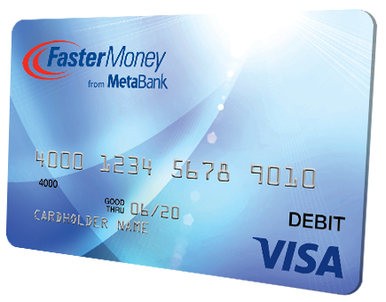 faster money card - Visa Money Card
